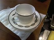HERMÈS Glass/Pottery CHAIN D'ANCRE TEA SET